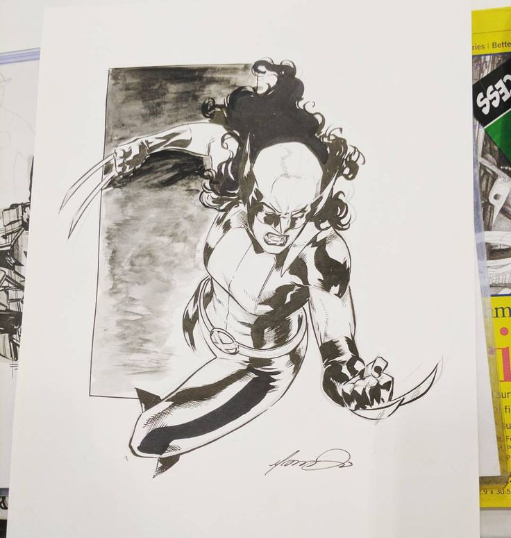 Wolverine by Marcus Anthony To #laurakinney #x23