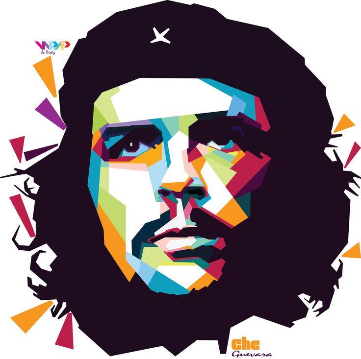 'Che Guevara' in wpap by. dicky falhkrurizal #wpap #art #design #artwork #cheguevara