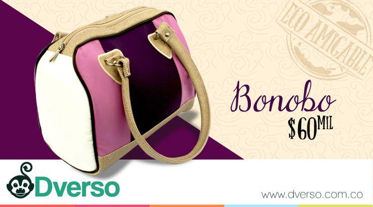 Si quieres un bolso con estilo y espacioso no dudes en llevat Bonobo de Dverso