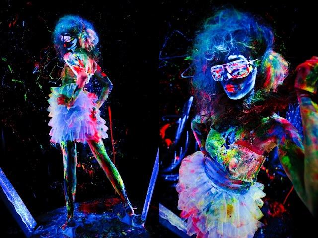 Fluo Night Glow Makeup | Neon | Pinterest | Glow Makeup ...