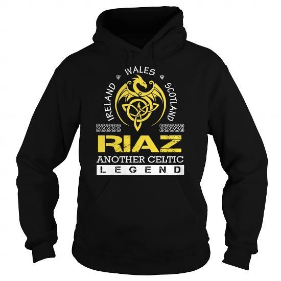 Awesome Tee RIAZ Legend - RIAZ Last Name, Surname T-Shirt T shirts