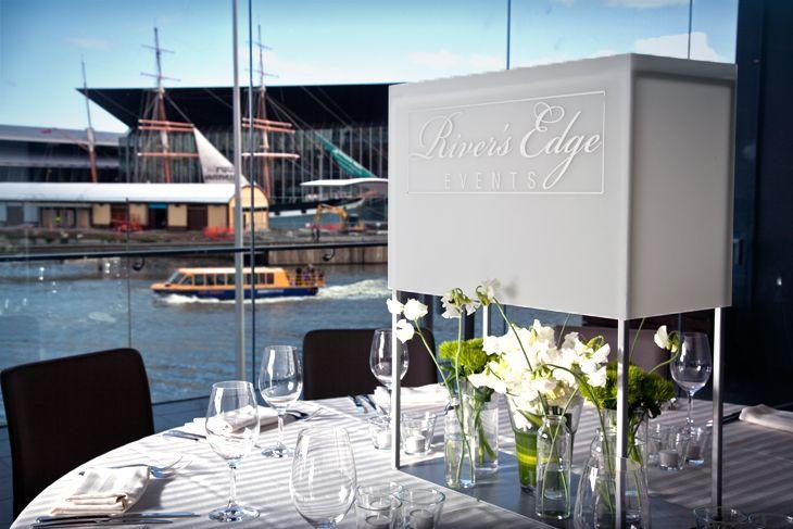 River's Edge Events - Melbourne | Wedding Venues Melbourne | Find more Melbourne wedding venues like this at www.ourweddingdate.com.au #WeddingVenuesMelbourne