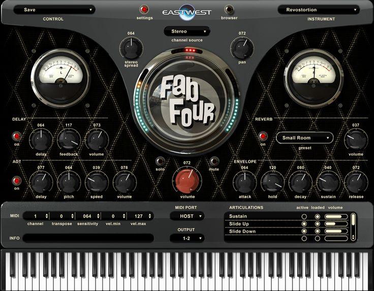 Ewql fab four virtual instrument