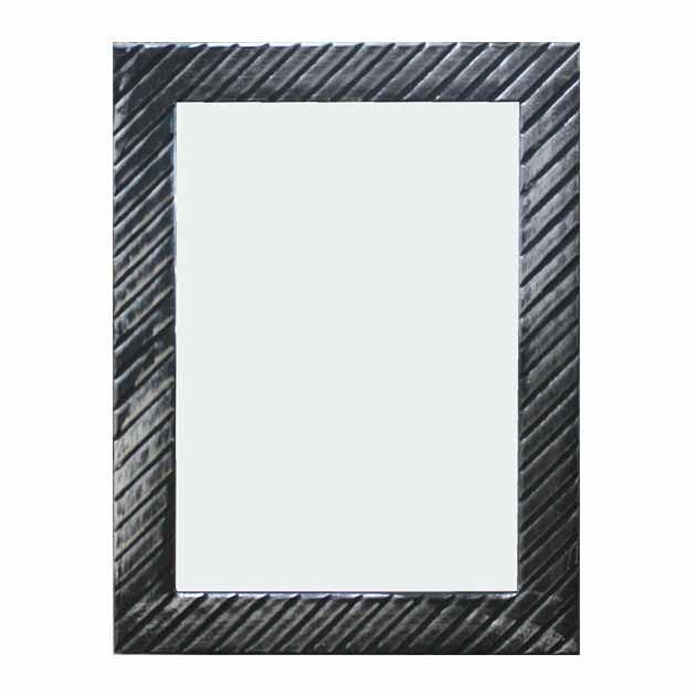 Καθρέφτης Μαυρος/Γκρι 60Χ80εκ