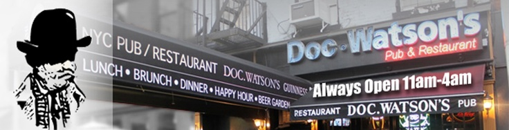 Upper East Side - Doc Watsons -   1490 2nd Avenue,   New York, NY 10075