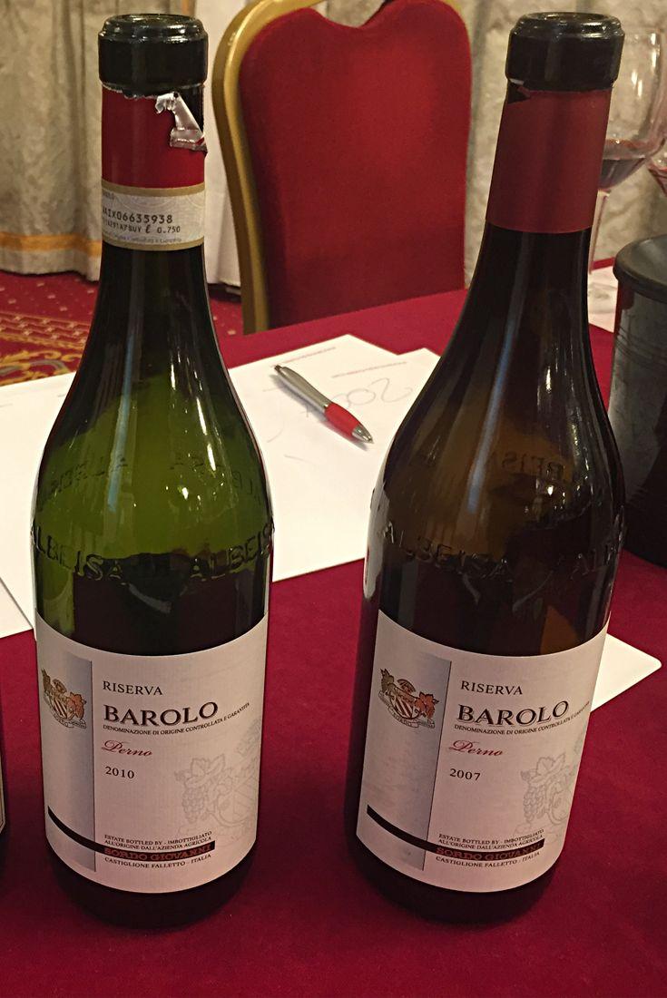 Barolo Menzione Perno Riserva 2010 E 2007 Azienda Agricola Perno Giovanni Vitigno Nebbiolo Lampia Michet Rose Bottiglie Di Vino Vino Italiano Vino