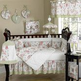 Found it at Wayfair - Riley's Roses Crib Bedding Collection