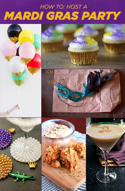 How to Host a Mardi Gras Party (Decor, Food and Drinks)