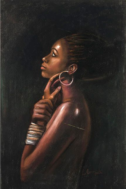 143 best Art - African Women Portrait images on Pinterest ...