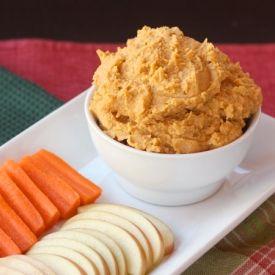 Maple Walnut Sweet Potato Hummus