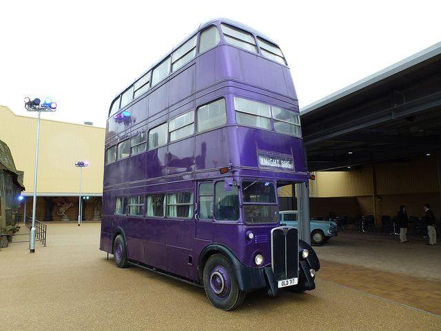 harry potter bus
