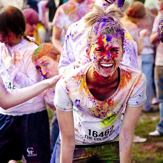 Color Run Tips. These are great, but I would also like to add, I have found when you shower, use hair condition instead of body wash :) For my friends doing Color me rad!!