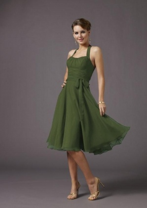 bridesmaid dresses... i want each ome a different style .. i like the short ones though. and i want a rustic, country wedding so this color is great!