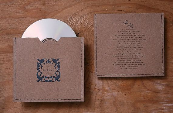 I'm giving out CD with our favorite Love songs as our wedding favor.  Just tie the custom CD case with a pretty ribbon and you're good to go!