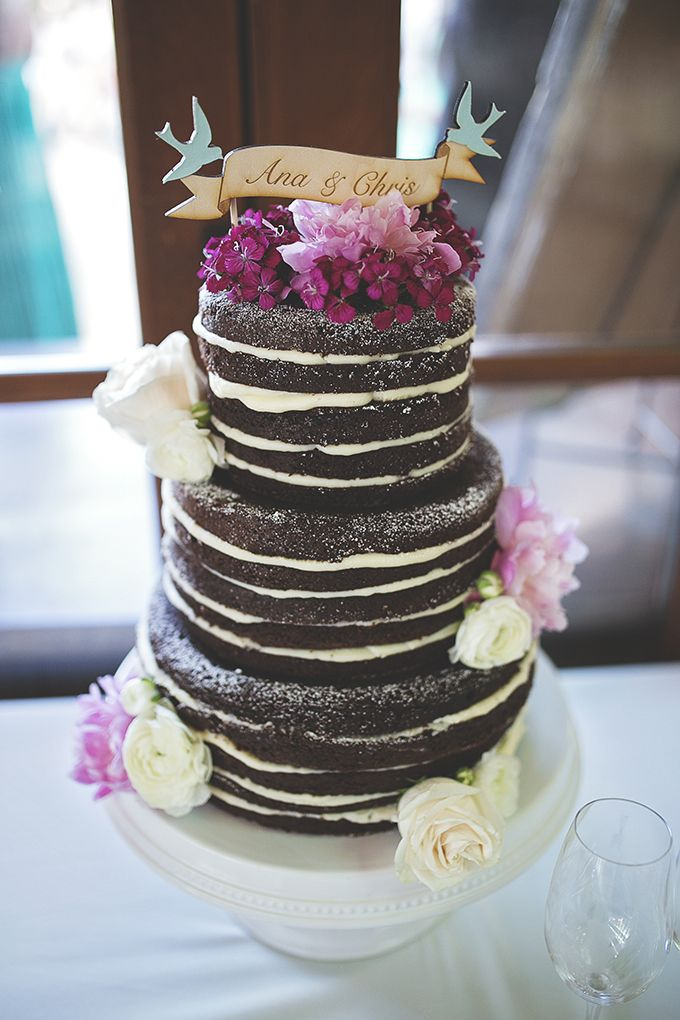 Such a cute cake topper and an amazing cake!