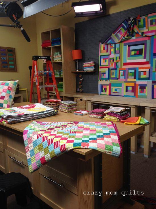сумасшедшие мама одеяла: красочные лом стежка на Craftsy