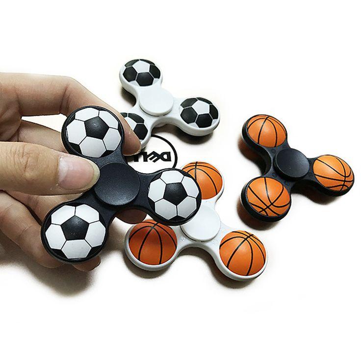 Football Basketball 3D  Colorful  Fidget Spinner  Professional EDC Hand Spinner Fidget Toys Fidget Spinner For ADHD Fun