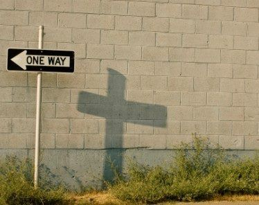 There IS only One Way! Amen, Thank you Jesus for providing that way.