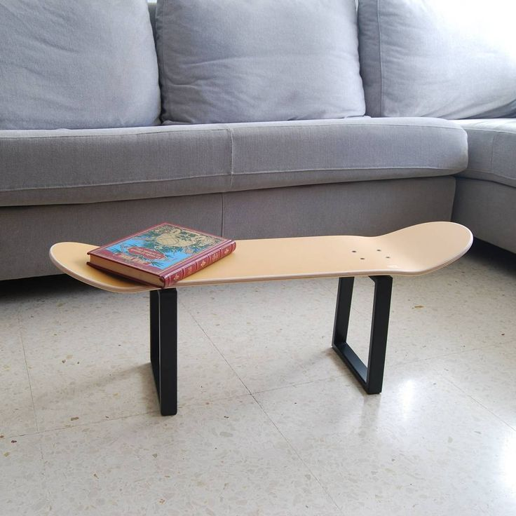Skateboard Furniture To Decorate Your House With Style Skate Skater Skateboarding