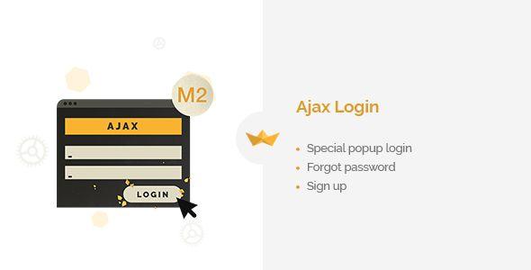 nice Ajax Login (Magento Extensions)