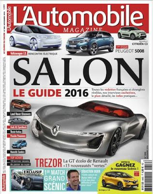 telecharger ebook gratuit francais pdf and epub: Télécharger LAutomobile magazine - Novembre 2016