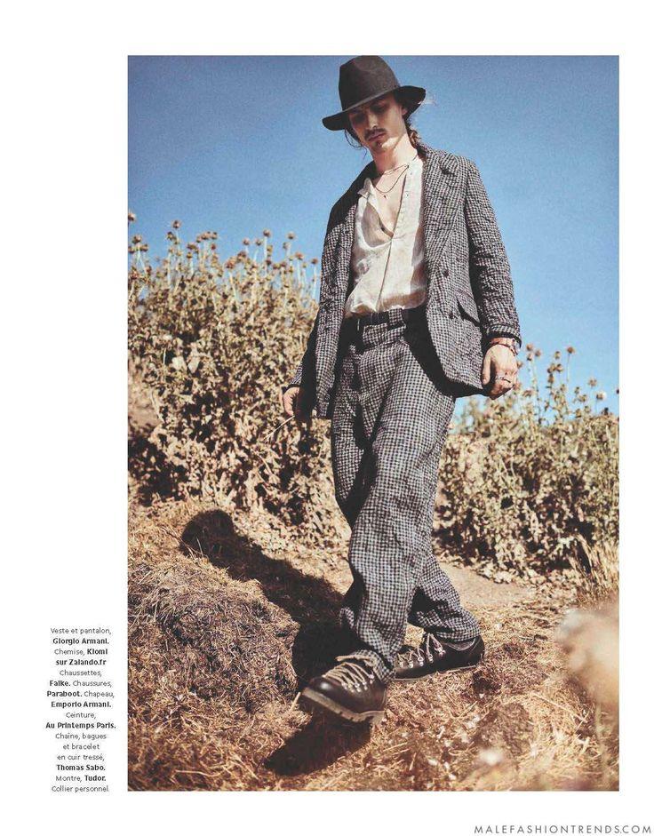 Male Fashion Trends: Viggo Jonason se enfunda en las mejores texturas de otoño para Grazia Hommes