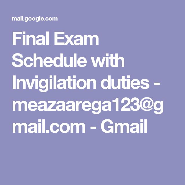 how to make a study schedule for final exams