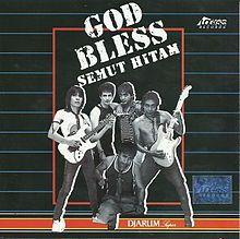 Album Semut Hitam - God Bless   Achmad Albar, Ian Antono, Donny Fattah, Teddy Sujaya, JSOP   1988