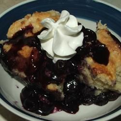 I never heard of this Traditional Canadian dessert until I watched Masterchef Canada last night. I must try this!  Cape Breton Blueberry Grunt