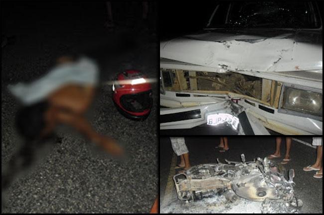 Grave acidente deixa vítima fatal na PE-329 entre Carnaíba e Quixaba   S1 Noticias