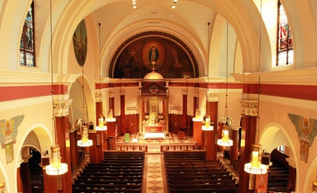 Churches On Long Island Ny With Beautiful Painted Church Ceilings