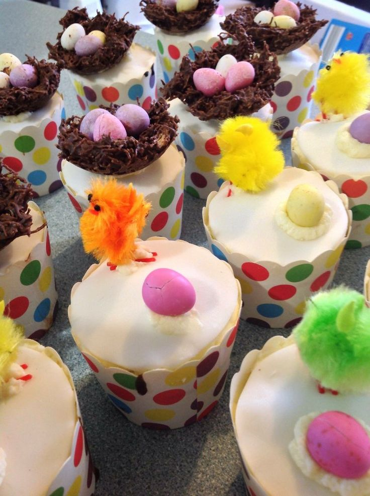 #Cupcakes #Chocolate #Easter