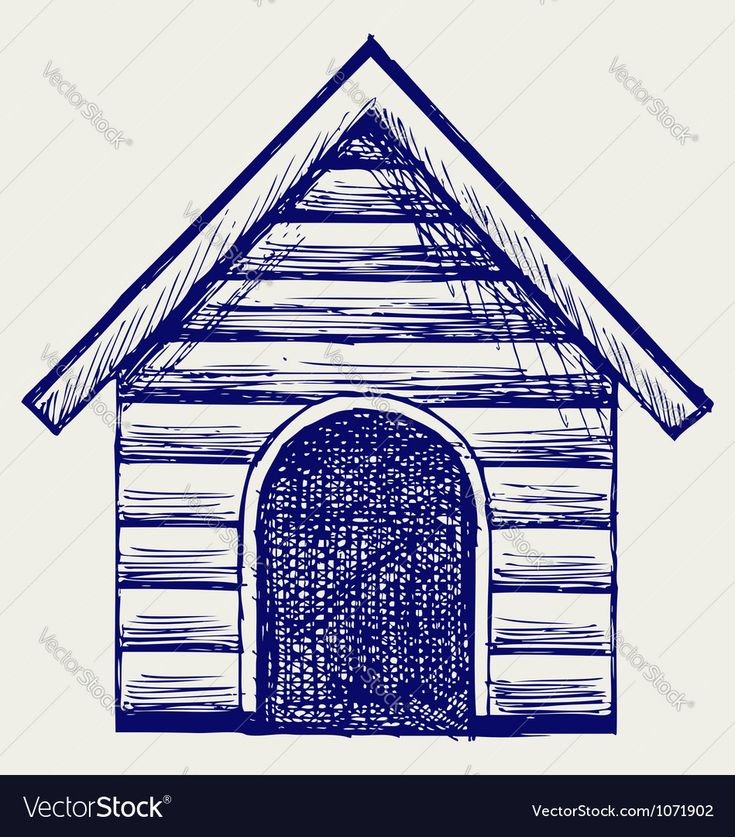 Dog House Illustrator High Resolution