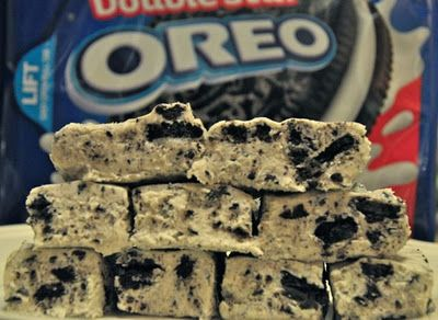 Oreo Cookie Fudge, I'm making this today!