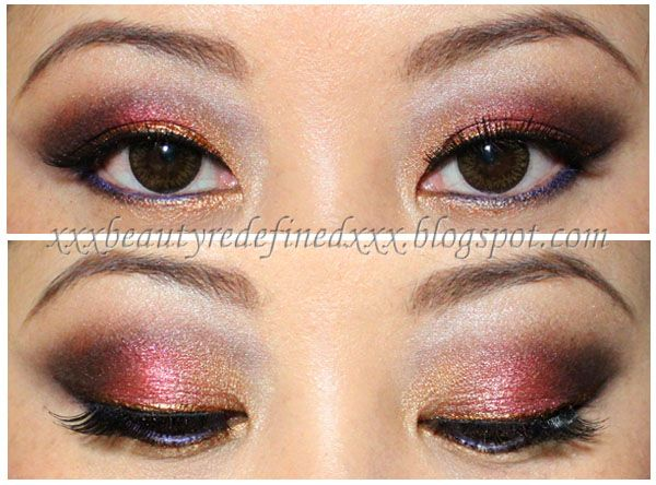 BeautyRedefined by Pang: Autumn Plums Makeup Look