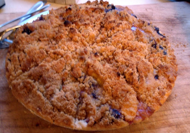 peach and blueberry pie | My Recipes | Pinterest