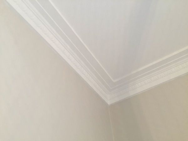 """10 Ways to Make an Old Room New Again"" #6 Install an Egg and Dart Cornice. (Cornices, Installing Cornices, Antique Cornices, Victorian Cornices, Design Blog)."