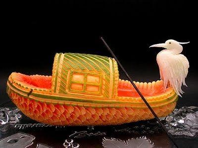 45 Best Watermelon Carving Images On Pinterest Fruit