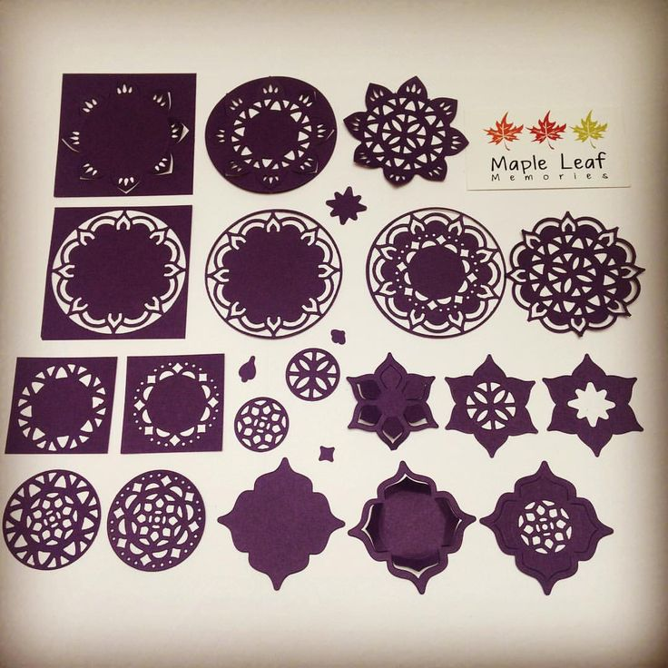 """Gefällt 10 Mal, 1 Kommentare - Clare McDonnell (@maple.leaf.memories) auf Instagram: """"I've been playing with my new dies from the Eastern Palace bundle, so many possibilities! Available…"""""""