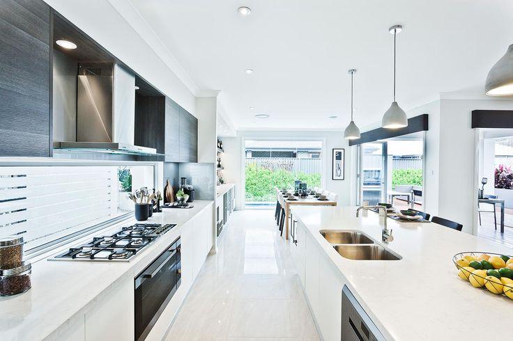 modern kitchen doors in polytec Char Oak Ravine