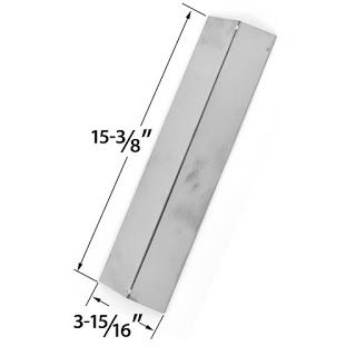 Bbq Parts Factory in USA: Brinkmann Stainless Steel Heat Plate | Replacement...