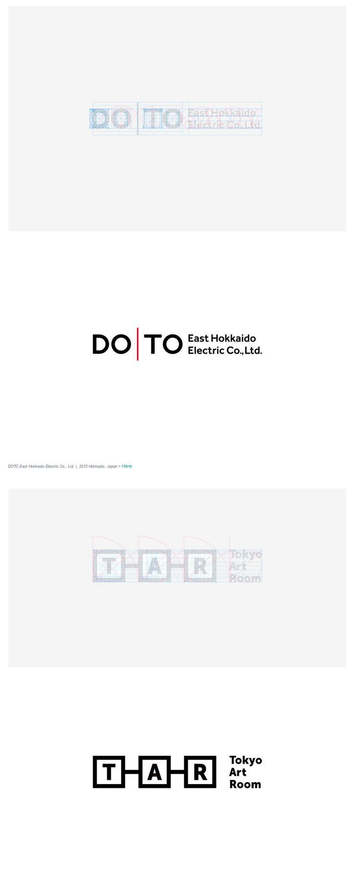 Grid of logos https://www.behance.net/gallery/19712547/Grid-and-logos-1