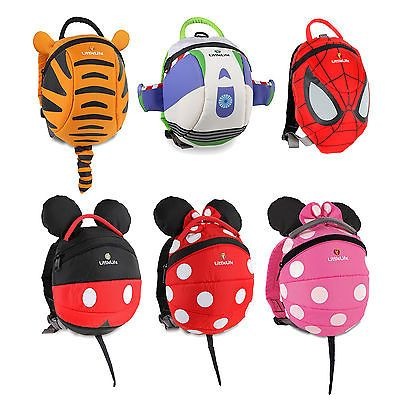 fd547d4c0a3 Details about LittleLife Toddler Child Disney Animal Daysack Backpack With  Safety Rein
