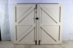 Double Ledge Brace Garage Doors