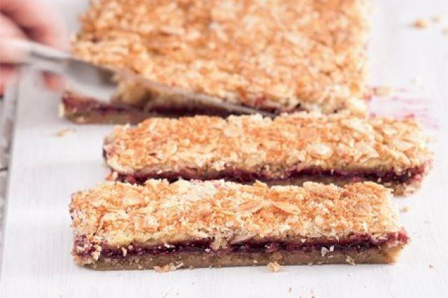 Bezlepkové malinovo-mandlové řezy | Apetitonline.cz http://www.apetitonline.cz/recepty/7661-bezlepkove-malinovomandlove-rezy.html http://www.apetitonline.cz