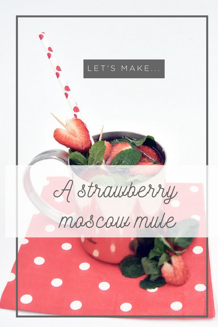 With Valentine's Day coming up we thought it would be the perfect time to try out this love themed cocktail! We love a good Moscow Mule here at Lily & Laure