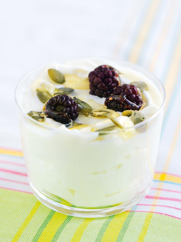 Grekisk yoghurt med honung | Recept från Köket.se