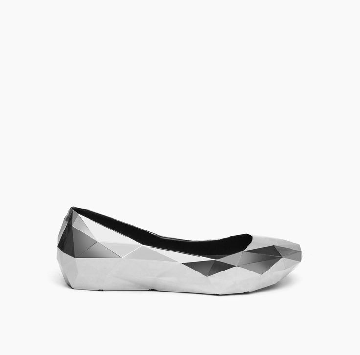 New in! #AW15 Lo res lo silver chromed ballerina