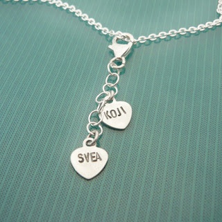 <3 We put your love on jewelry!