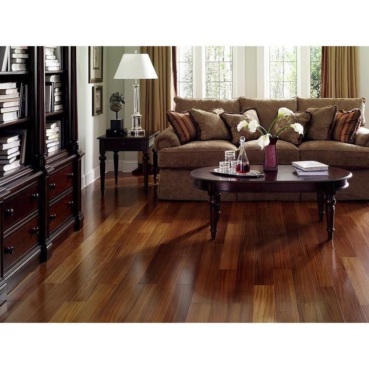 USA Envi Exotic Brazilian Teak EZ Click Hardwood Flooring (26.05 Sq Ft)  (Envi